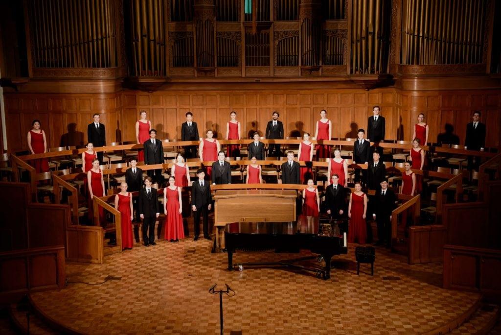 The LCHS Chamber Choir for their 2019 iNCANTATO Europe choir tour