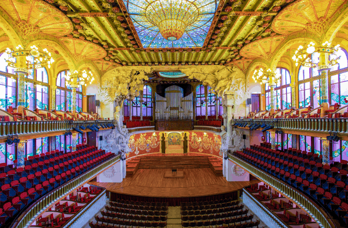 Once upon a time iN Spain: SMCC at Palau de la Musica