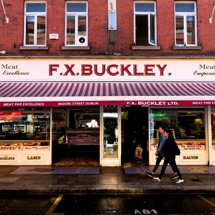 Postcard from Ireland: F.X. Buckley iN Dublin