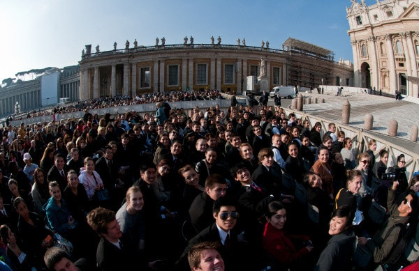 Once upon… iN 2011: Mater Dei sings for Pope Benedict