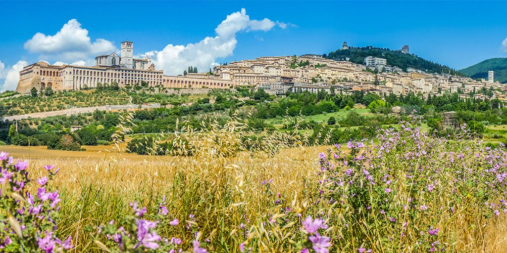 View of Assisi - SiNG iN Italy with INCANTATO TOURS