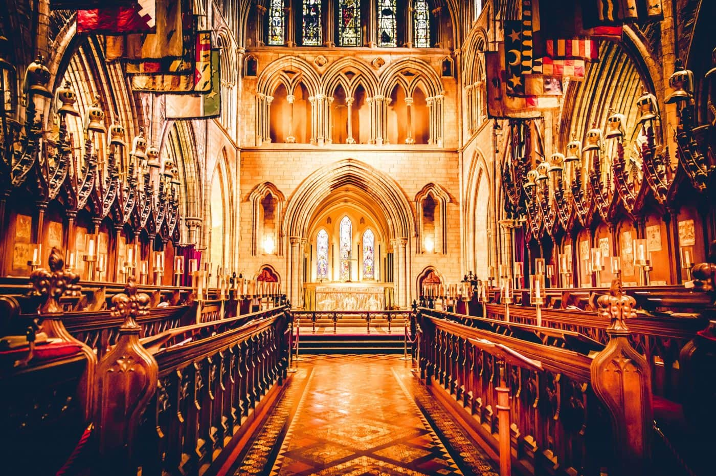 Choir at St. Patrick's Cathedral iN Dublin – Photo by Jaime Casap on Unsplash