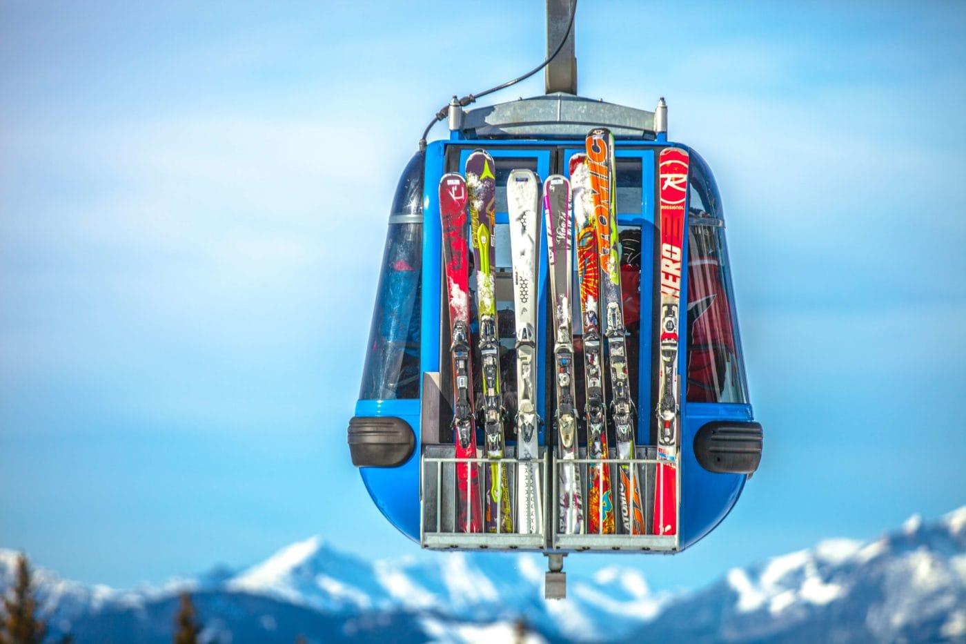 Postcard from Austria: Ski lift iN Zell am Ziller