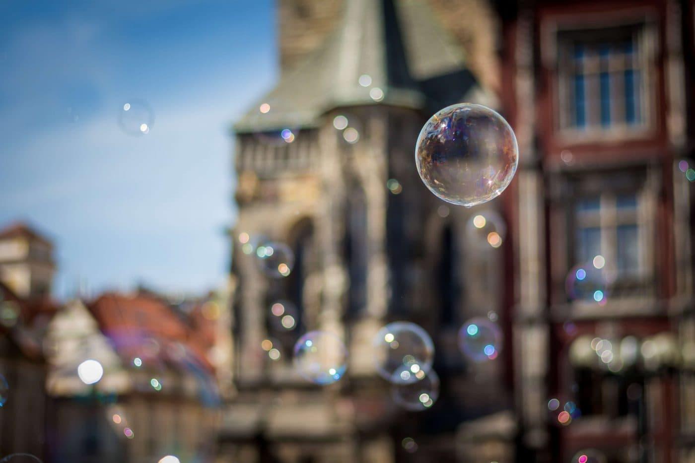 Postcard from the Czech Republic: Bubbles iN Prague