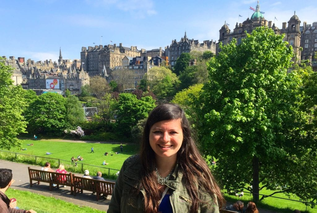 Natalie iN Edinburgh, Scottland – Travel Better Together with iNSIDE EUROPE