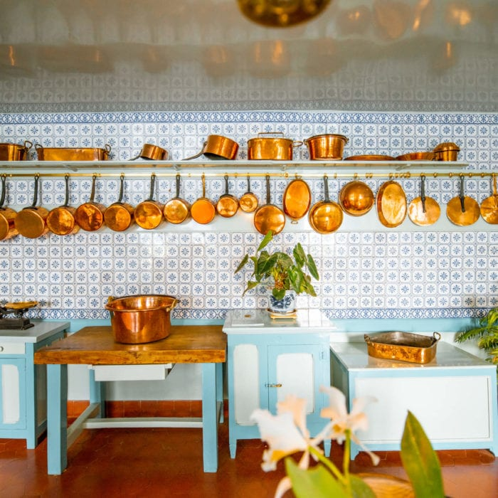 Postcard from France: Monet's Kitchen iN Giverny