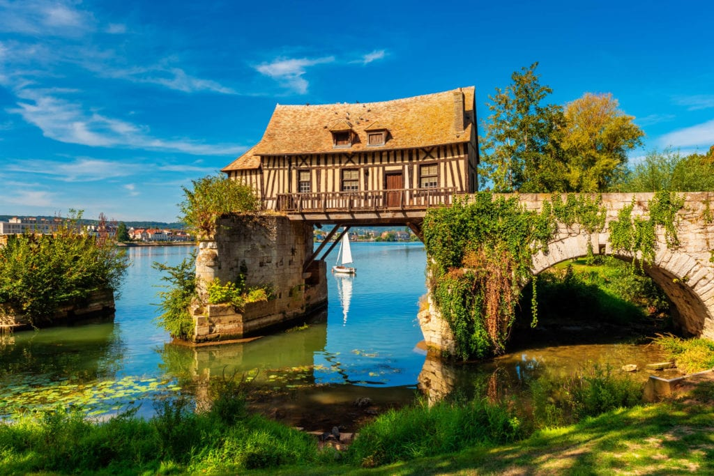 Old Mill in Vernon, France - © Allard1 | Dreamstime.com