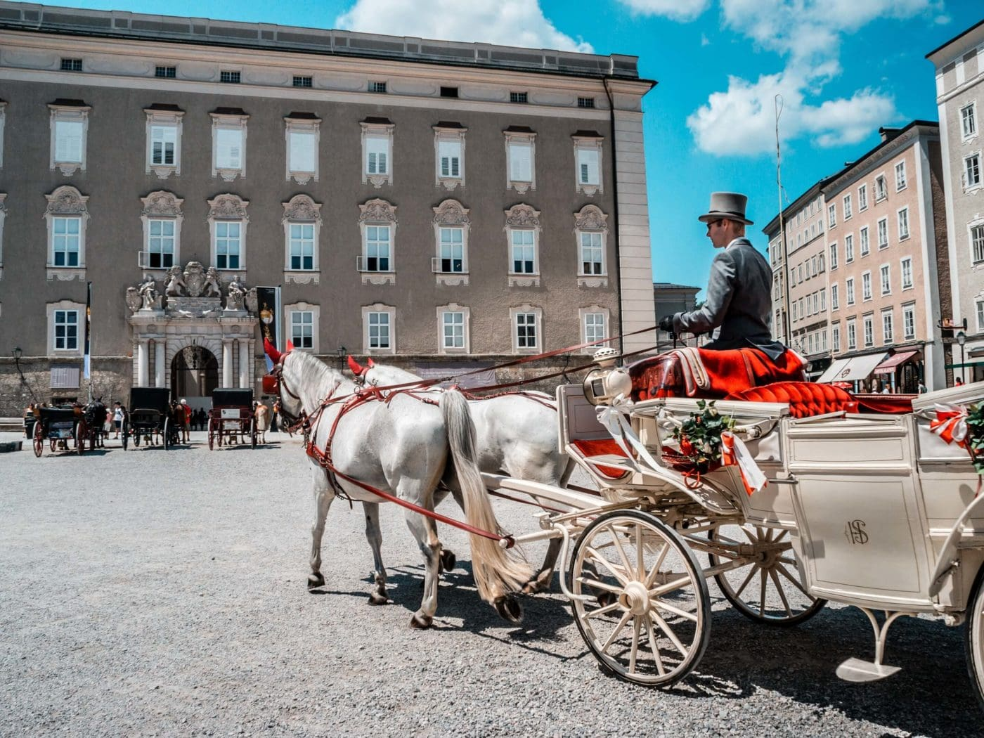 Postcard from Austria: Carriage Ride iN Salzburg
