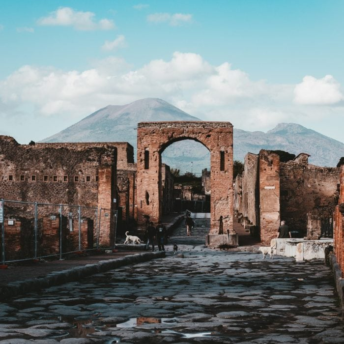 Postcard from Italy: Pompeii Archeological Park