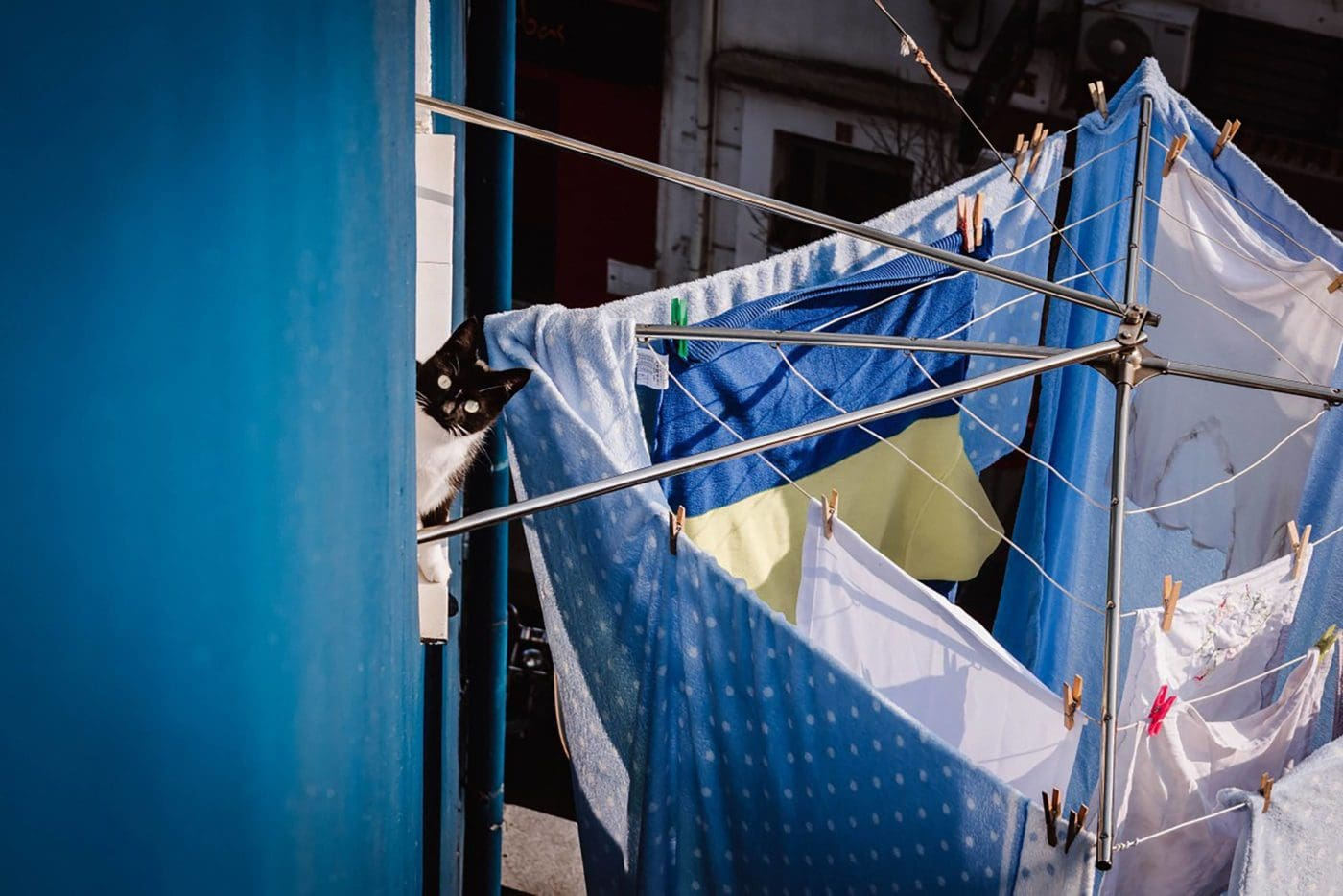 Postcard from Spain: Laundry Day in Santander